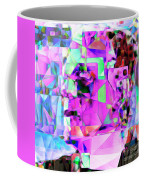 Frankenstein In Abstract Cubism 20170407 Square Coffee Mug