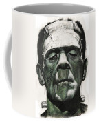 Frankenstein Portrait Coffee Mug