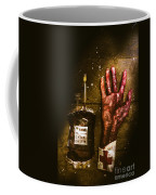 Frankenstein Transplant Experiment Coffee Mug