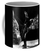 Frankensteins Monster Chained The Castle Played By Boris Karloff Coffee Mug
