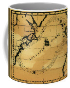 Franklin Chart, 1786 Coffee Mug