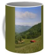 Franklin County Virginia Red Barn Coffee Mug by Teresa Mucha