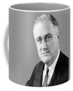 Franklin Delano Roosevelt Coffee Mug by War Is Hell Store