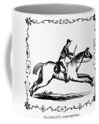 Franklin: Post Rider, 1775 Coffee Mug