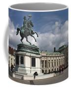 Franz Joseph Equestrian Statue Coffee Mug