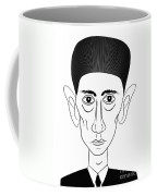 Franz Kafka Coffee Mug by Michal Boubin