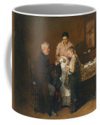 Franz Rumpler  The Letter 1882 Coffee Mug
