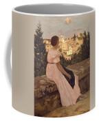 Frederic Bazille   The Pink Dress Coffee Mug