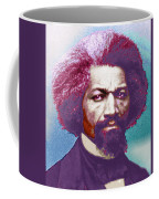 Frederick Douglass Painting In Color Pop Art Coffee Mug