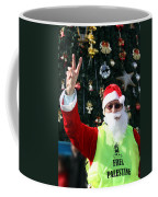 Free Palestine Santa Coffee Mug