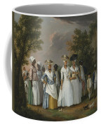 Free Women Of Color With Their Children And Servants In A Landscape Coffee Mug