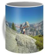 Freedom Woman At Glacier Point Coffee Mug