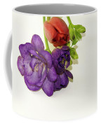 Freesia And Tulip Coffee Mug