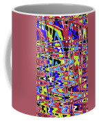 Freeway Of Colors Abstract Coffee Mug
