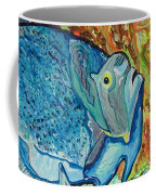 French Angle Fish Coffee Mug