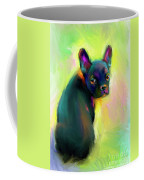 French Bulldog Painting 4 Coffee Mug