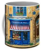 French Cheese Shop Coffee Mug by Marilyn Dunlap