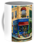 French Flower Shop Coffee Mug