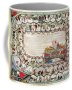 French Game Board, 1791 Coffee Mug by Granger