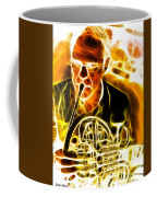 French Horn Coffee Mug by Stephen Younts