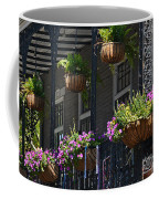 French Quarter Sunlit Balcony - New Orleans Coffee Mug