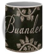 French Vintage Laundry Sign Coffee Mug