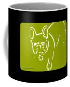 Frenchielove Design Chartreuse Coffee Mug