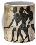 Fresco - Hunters Coffee Mug by Michal Boubin