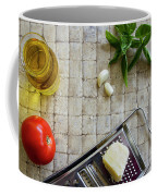 Fresh Italian Cooking Ingredients Coffee Mug