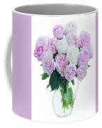 Vase Of Peonies Coffee Mug