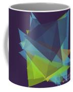 Fresh Polygon Pattern Coffee Mug