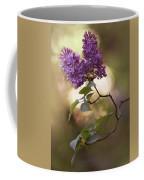 Fresh Violet Lilac Flowers Coffee Mug