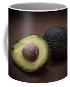 Fresh Whole And Half Avocado Coffee Mug