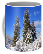 Fresh Winter Solitude Coffee Mug