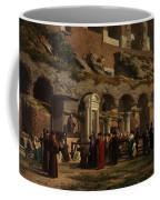 Friday At The Colosseum In Rome Amerigo Y Aparici  Francisco Javier Coffee Mug