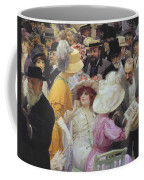 Friday At The French Artists Salon Coffee Mug by Jules Alexandre Grun