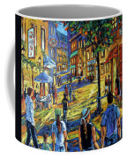 Friday Night Walk Prankearts Fine Arts Coffee Mug