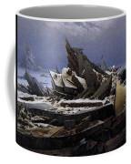 Friedrich Caspar David The Sea Of Ice Coffee Mug