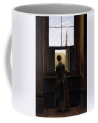 Friedrich Caspar David Woman At A Window Coffee Mug