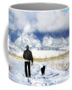 Friends On A Walk Coffee Mug