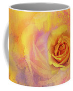 Friendship Rose Textured Coffee Mug