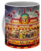 Fries Nachos Dogs Coffee Mug