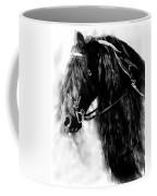 Friesian Horse Beauty Coffee Mug