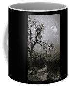 Frigid Moonlit Night Coffee Mug