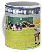 Frisbee Dog Coffee Mug by Brian Wallace