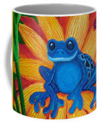 Frog And Lady Bug Coffee Mug