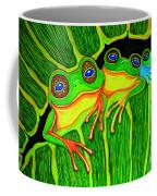Froggie Trio Coffee Mug