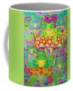 Frogs And Mushrooms Coffee Mug
