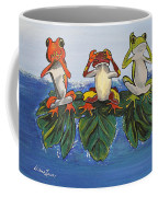 Frogs Without Sense Coffee Mug