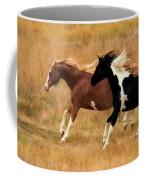 Frolicking Horses Coffee Mug